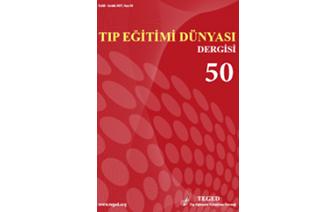 Tıp Eğitimi Dünyası 50. Sayısı Yayımlandı